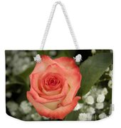 Fire And Ice Rose Weekender Tote Bag