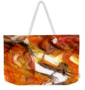 Fire And Rain Weekender Tote Bag