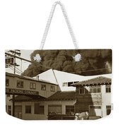 Fire At Cannery Row, Custom House Packing Company Sea Beach Cannery 1953 Weekender Tote Bag