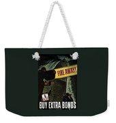 Fire Away Weekender Tote Bag by War Is Hell Store