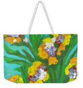 Fire Blossoms Weekender Tote Bag