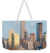 Fire Boat And Manhattan Skyline IIi  Weekender Tote Bag