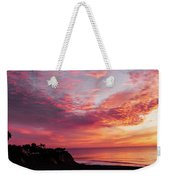 Fire Breather Weekender Tote Bag