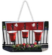 Fire Buckets Weekender Tote Bag