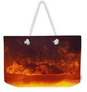 Fire Clouds Weekender Tote Bag