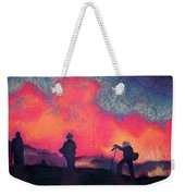 Fire Crew Weekender Tote Bag by Joshua Morton