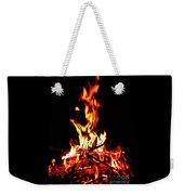 Fire Dancer Weekender Tote Bag