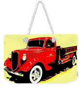 Fire Engine Ok Weekender Tote Bag