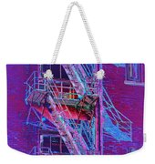 Fire Escape 4 Weekender Tote Bag