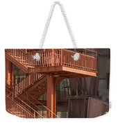 Fire Escape And Platforms Weekender Tote Bag