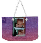 Fire Escape Window 2 Weekender Tote Bag