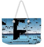 Fire Escape Window Weekender Tote Bag