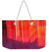 Fire Fence Weekender Tote Bag