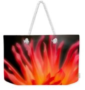 Fire Flower Weekender Tote Bag