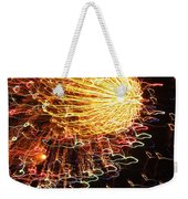 Fire Flower Weekender Tote Bag by Karen Wiles