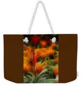 Fire Flowers 5227 Weekender Tote Bag