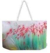 Fire-flowers-spring Weekender Tote Bag