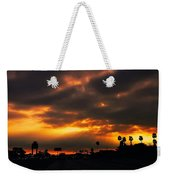 Fire From The North Weekender Tote Bag