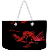 Fire In Abstract Weekender Tote Bag