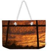 Fire In The Sky 2 Weekender Tote Bag
