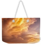 Fire In The Sky Weekender Tote Bag by Dave Bowman