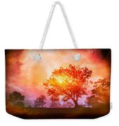 Fire In The Trees Weekender Tote Bag
