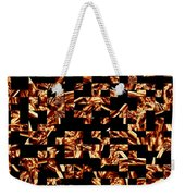 Fire Jumble Weekender Tote Bag