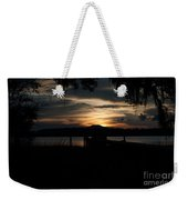 Fire Light Sunset Weekender Tote Bag