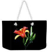 Fire Lily 2 Weekender Tote Bag