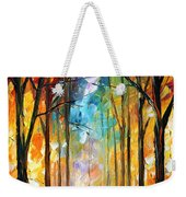 Fire Night Weekender Tote Bag