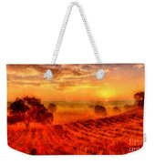 Fire Of A New Day Weekender Tote Bag