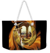 Fire Of Glory Weekender Tote Bag