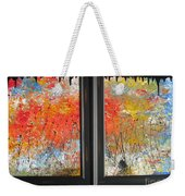 Fire On The Prairie Weekender Tote Bag