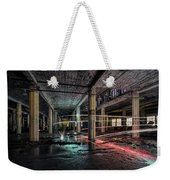Fire Over Ice Weekender Tote Bag