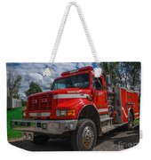 Fire Rescue Weekender Tote Bag