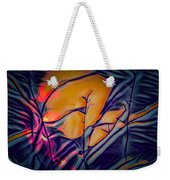 Fire Ring Sunset Weekender Tote Bag