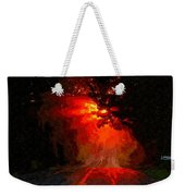 Fire Road Weekender Tote Bag