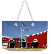 Fire Station Disney Style Weekender Tote Bag