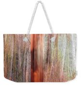 Fire Study 6, Beauty Destroyed Weekender Tote Bag