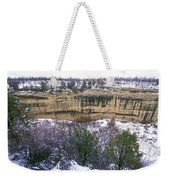 Fire Temple And New Fire House Ruins Weekender Tote Bag