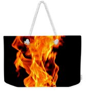 Fire The 3rd Element Michigan Weekender Tote Bag
