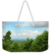 Fire Tower View - Pipestem State Park Weekender Tote Bag