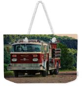 Fire Truck  Engine 13 Village Of Tully New York Pa Weekender Tote Bag