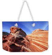 Fire Wave Weekender Tote Bag by Chad Dutson