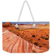 Fire Wave Covenant Weekender Tote Bag