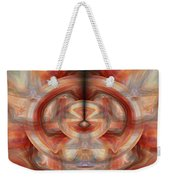 Fire Wheel Weekender Tote Bag
