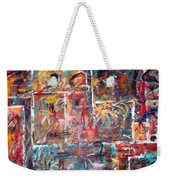 Fire Works Weekender Tote Bag