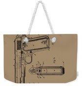 Firearm Handgun Weekender Tote Bag