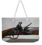 Firearms 1792 Virginia Legion Of The United States Rifle Weekender Tote Bag