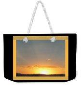 Fireball Sunset Weekender Tote Bag